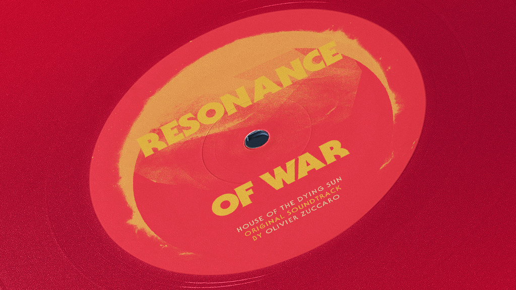 Antoine Ghioni - Resonance of War vinyl close-up