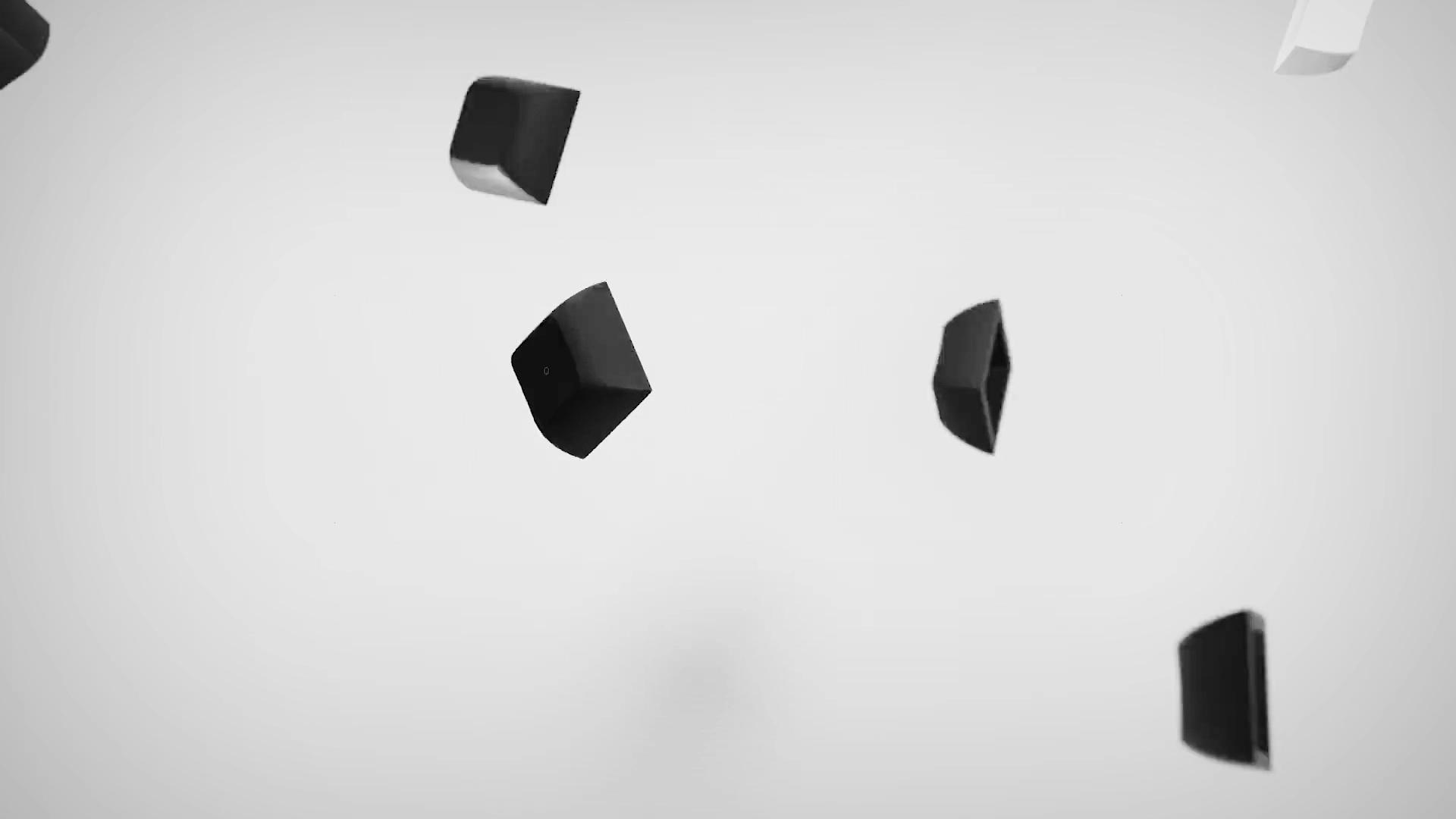 Antoine Ghioni - Kam Horizon falling keys animation cover