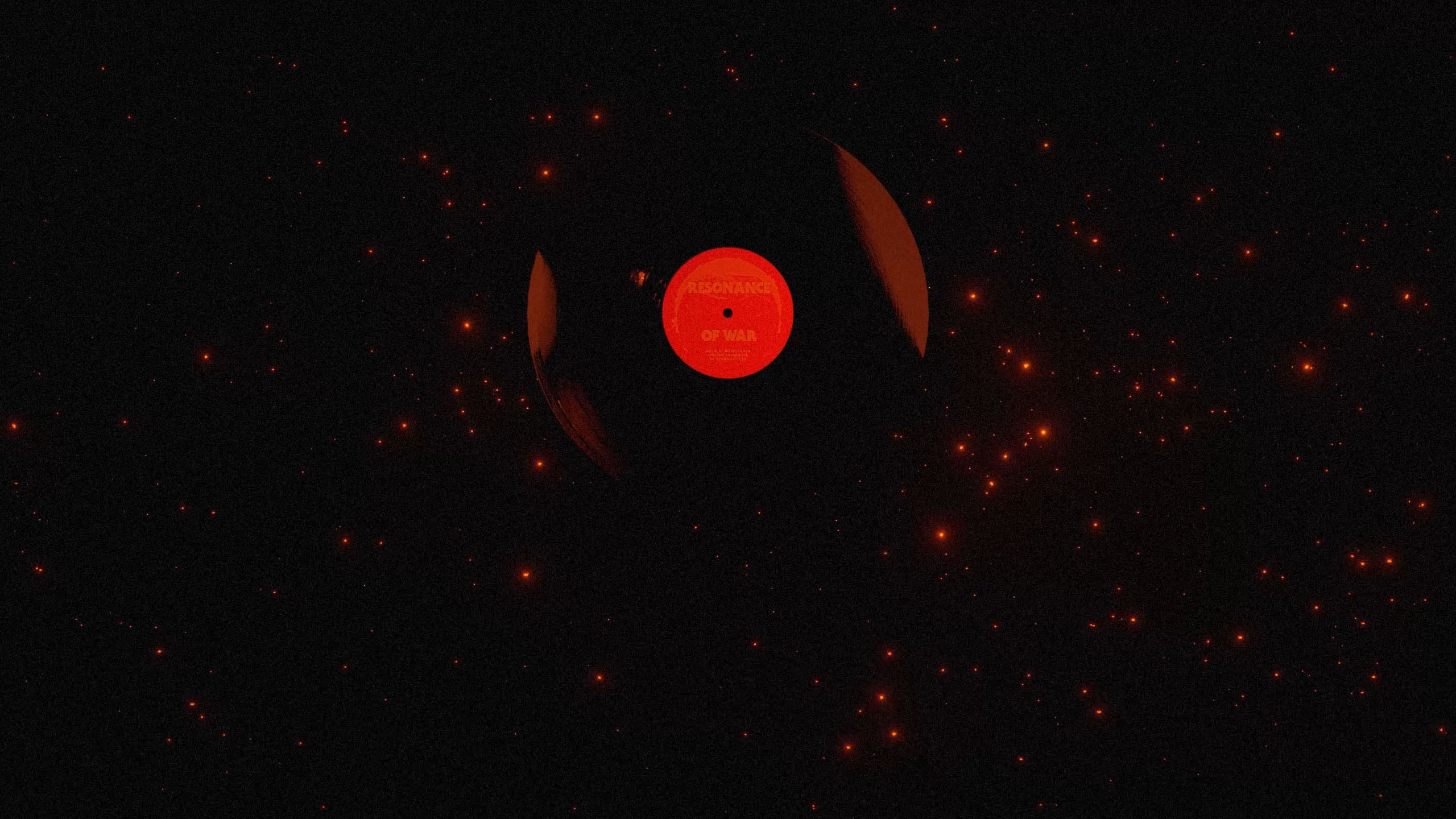 Antoine Ghioni - Resonance of War viyl in space
